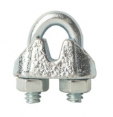 "1/8"" Galvanized Cable Clamps"