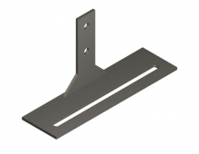 Stainless Steel Short Leg Plate with Gussets
