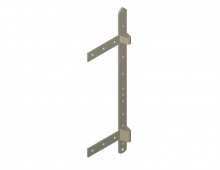 Wall Bracket with Support